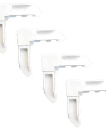 פינות למסגרת בצבע לבן