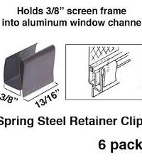 Screen Retainer Clips 1